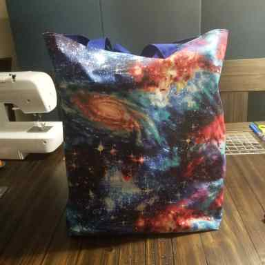 Galaxy Resusable shopping bag